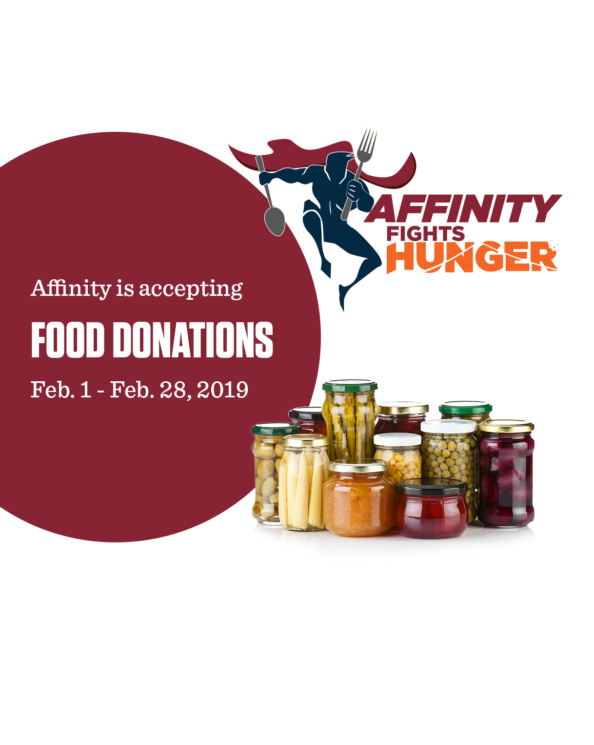 Affinity Fights Hunger Mobile