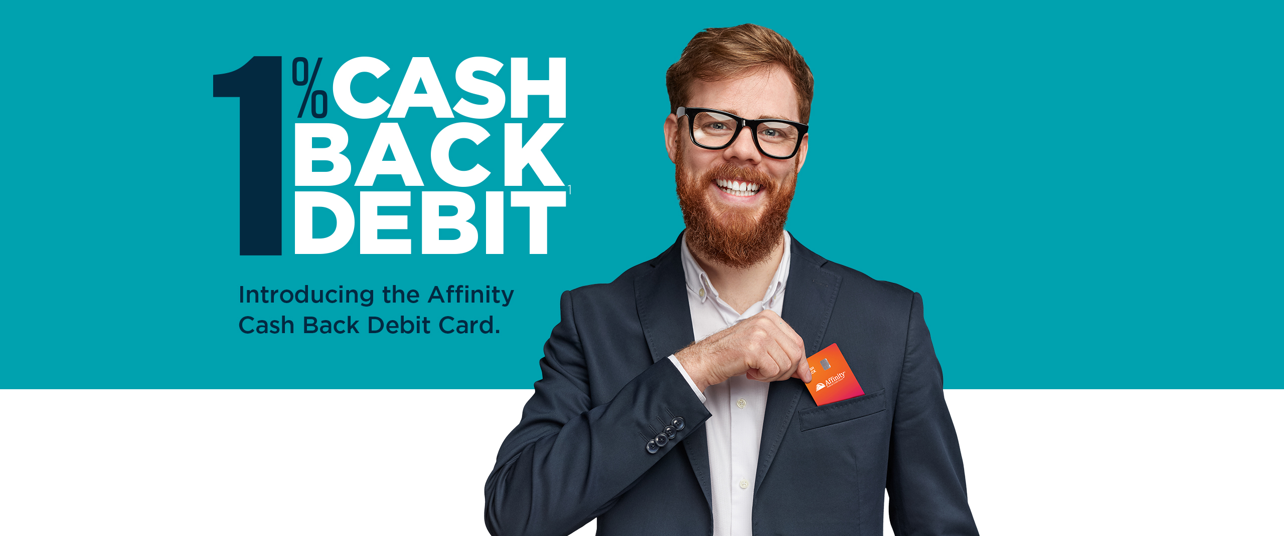 Introducing the Affinity Cash Back Debit Card