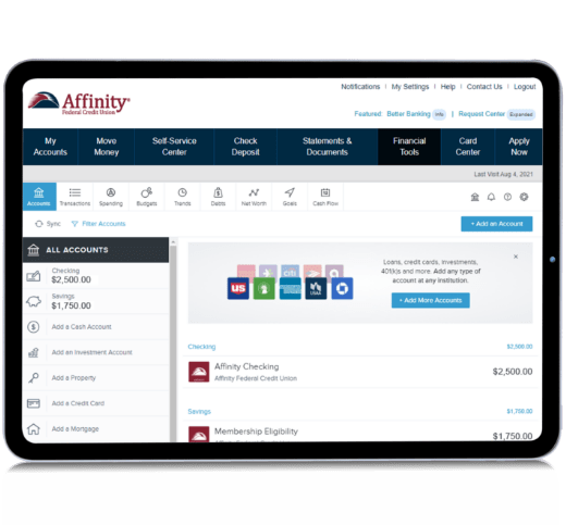 Affinity anywhere on pad computer
