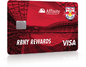 Affinity Federal Credit Union Red Bulls Credit Card